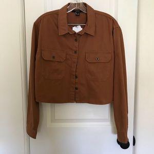 Forever21 Workwear Shirt Jacket